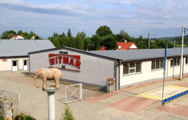 Teren firmy Witmar